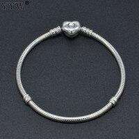European Large Hole Big Hole Trollbeads Trollbead Europe Euro Bracelet Chain2014 New Arrive Mens 925 Sterling