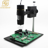 High Quality usb microscope Repair Magnifier 8 LED 500x USB Digital Microscope holder(new),Magnification Soldering Stand Lamp