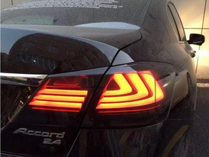 Image 5 - 1 conjunto de 2014 2015 2016 ano luz da cauda para honda accord acessórios do carro lanterna traseira led drl para accord luz nevoeiro