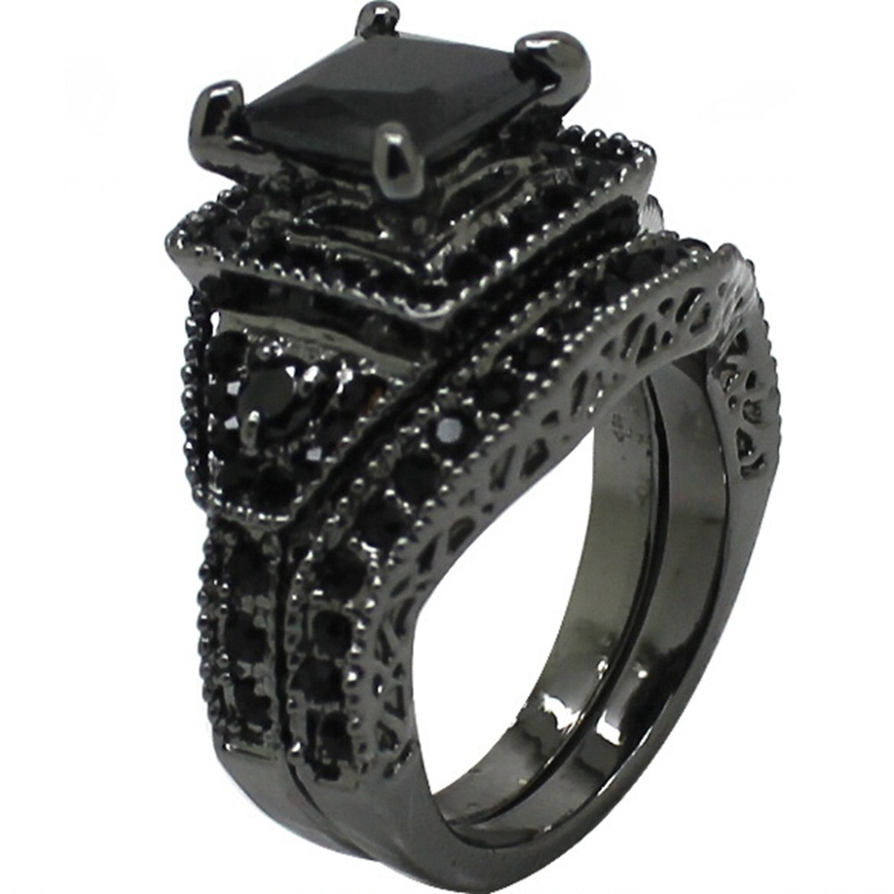 item specifics - Black Onyx Wedding Ring
