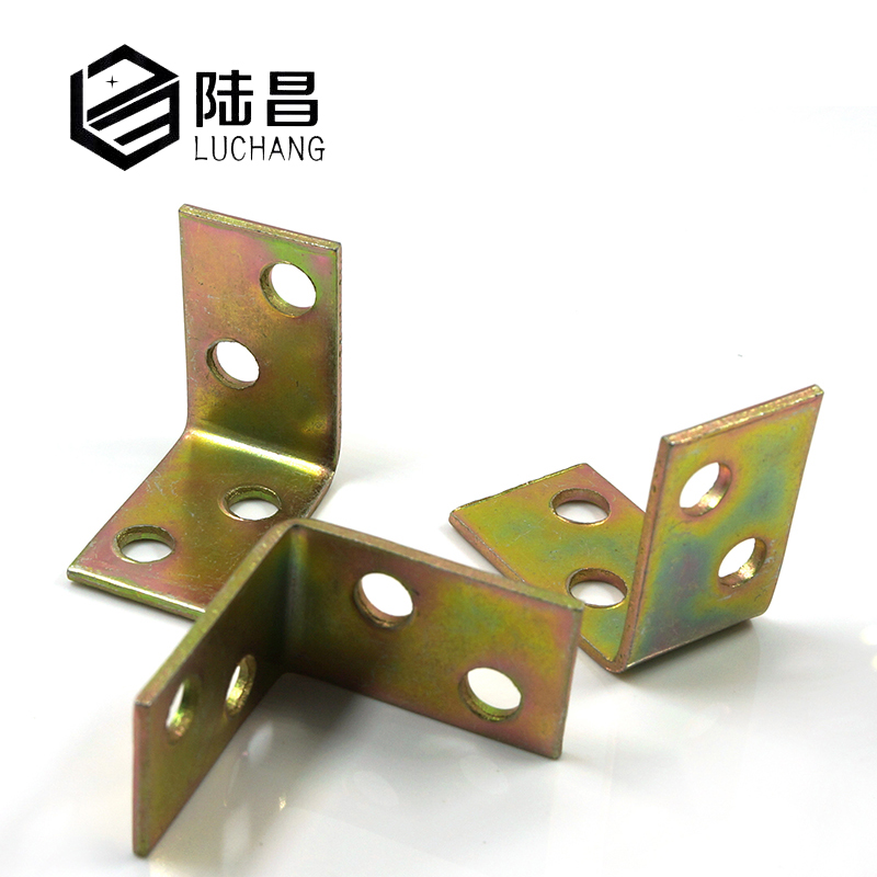 LUCHANG Free Shipping Metal Shelf Support 90 Degree Right Angle Bracket iron corner L brackets ned 65x65x20mm practical stainless steel corner brackets joint fastening right angle 2 5mm thickened bracket with screws