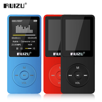English Version Ultrathin MP3 Player With 8GB 16GB Storage 1 8 Inch Screen Can Play 80h