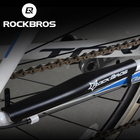ROCKBROS 1pc Cycling Mountain Bike Bicycle Frame Protector PC Chain Stay Protect Cover Rear Fork Bike Guard Pad Multicolor 2type