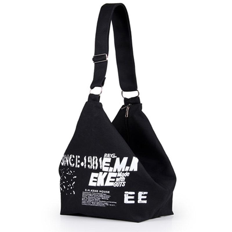 Canvas Women Messenger Bags Solid Travel Fashion Handbags Travel Tote Single Shoulder Bags Female Crossbody Bag For Women