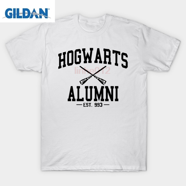Harry t shirt Hogwarts Alumni Black T-Shirt potter shirt