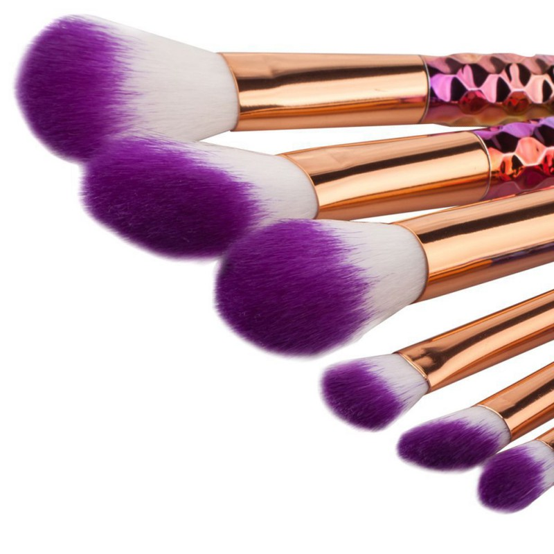 6/8/10/12PCS Beauty Makeup Multicolor Bright Brush Foundation Powder Eye Shadow Brush Tools Gift New Arrival six black eye makeup brush brush eye shadow brush black beauty makeup tools