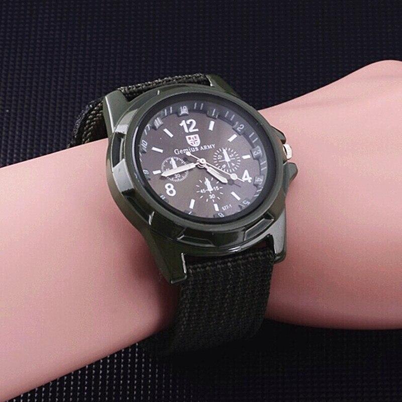 2019 Man Wach Gemius Army Watches Men Nylon Band Sports Casual Quartz Wristwatches relogio masculino reloj