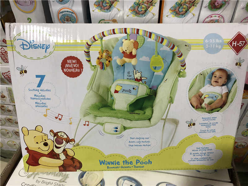 Baby Rocking Chair Musical Vibrating Rocking Chair Adjusting Shaker Cradle With Music Safe Baby Sleeping Basket