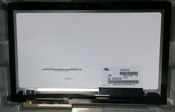 13.3 Inch 3K LCD Touch Screen Assembly LTN133YL03-L01 for LENOVO Yoga 3 Pro 1370 3k 3200*1800 40Pin Replacement Display + Frame new original for lenovo yoga 2 pro 13 ltn133yl01 l01 laptop lcd touch screen assembly