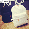 New Women Lace Backpacks Canvas Shoulder School Bag For Girl Ladies Teenagers Travel Bags Schoolbag Bagpack Mochila Feminina