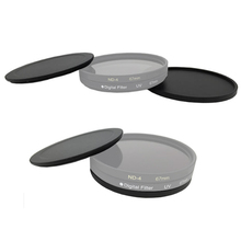 40.5 43 46 49 52 55 58 62 67 72 77 82mm New Metal Screw In Lens Filter Case cap For camera lens UV CPL ND Filter