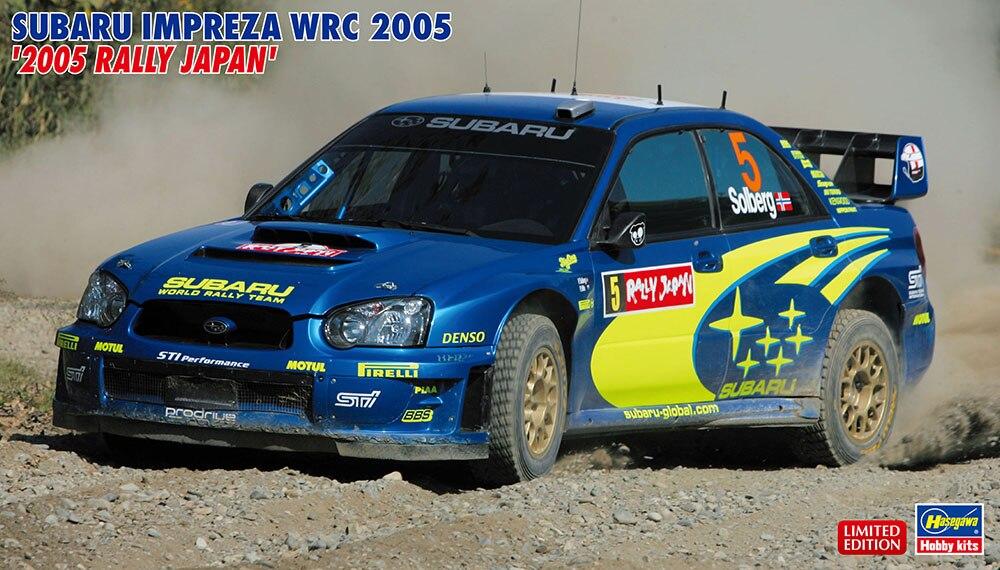 1/24 Subaru leopar Ralli Araba WRC2005 Japonya Istasyonu 203531/24 Subaru leopar Ralli Araba WRC2005 Japonya Istasyonu 20353