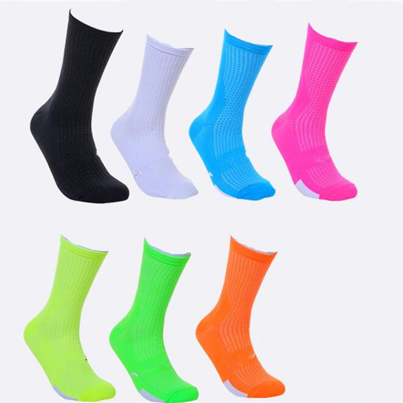 New Cycling Socks High Elasticity Outdoor Sports Wearproof Bike Footwear For Road Bike socks