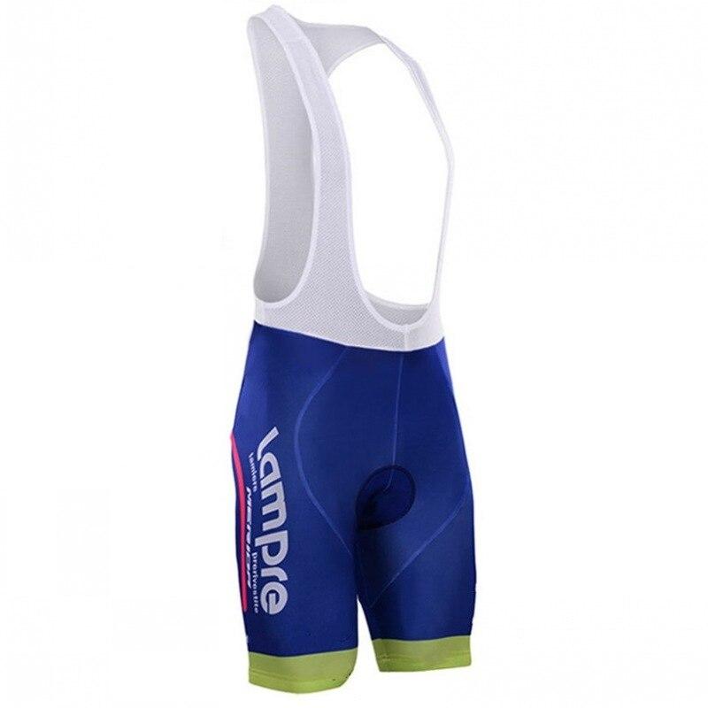 pro team lampre merida cycling bib shorts pants road bike clothing MTB Ropa Ciclismo3D GEL pad