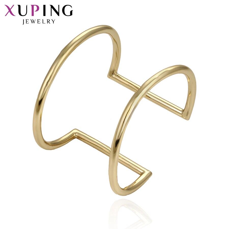 11,11 сделок Xuping мода роскошный новый шарм браслет светло-желтого золота Цвет покрытием украшения для Для женщин Рождество подарок S62-51602