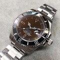 Горячая продажа часы 116610 Дата Керамическая рамка сапфировое стекло, автоматические азиатские 2813 нержавеющая сталь застежка мужские часы