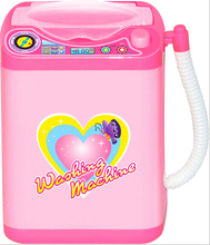 Educational Toy Mini Electric Washing Machine Children Pretend Play Baby Kids Home Appliances Toy