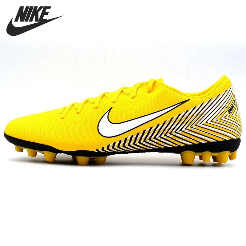 Оригинальный Новое поступление 2018 NIKE VAPOR 12 ACADEMY NJR AG R Для Мужчин's Обувь для футбола футбольные бутсы кроссовки