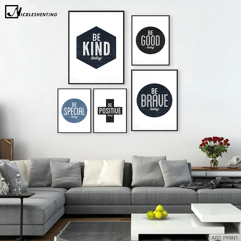 Office inspirational posters promotion shop for for Minimalist leben