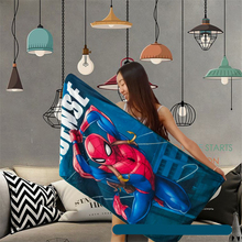 Summer Bath Towel Beach Towel spiderman The Avengers Iron Ma