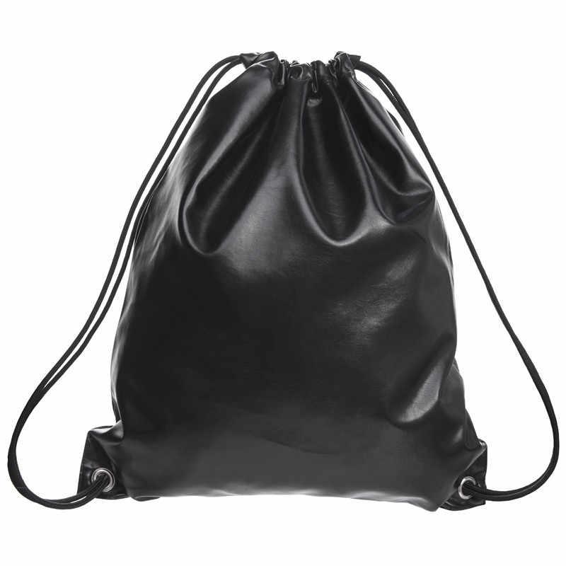Горячая лазерная портативная Водонепроницаемая Дорожная сумка из искусственной кожи, чемодан, обувь, нижнее белье, дорожная сумка для хранения, упаковка одежды, сумка на шнурке