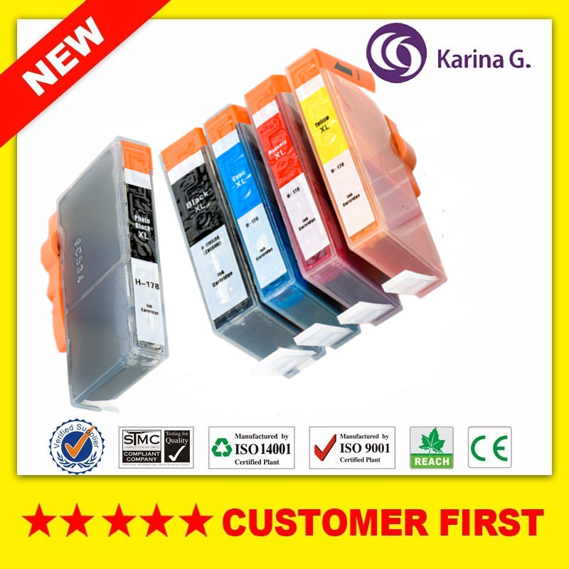 Compatible Ink Cartridge For <font><b>HP</b></font> <font><b>178</b></font> HP178 <font><b>HP</b></font> 178XL for Photosmart B109 B110 B210 C309 C310 C410 D5468 D5463 D5460 5510 etc. image