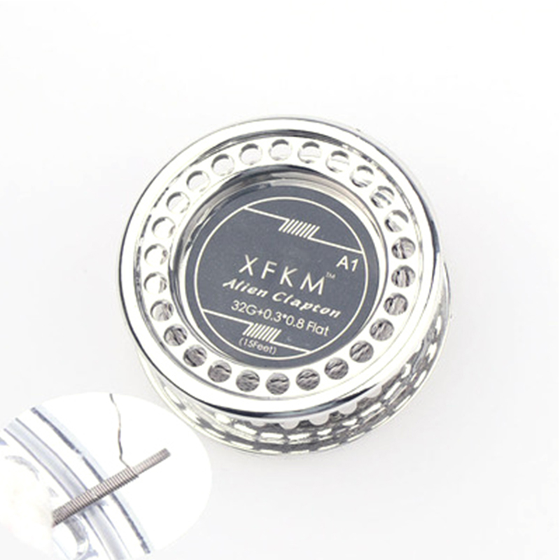 5m/roll Coil Tool Alien Clapton Heating Wire Flat Alien Clapton Wire For RDA RBA Rebuildable Atomizer Heating Wires
