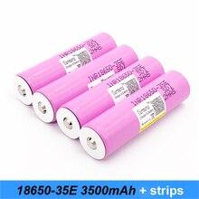 Original INR18650-35E with pointed 3500mah 13A inr18650 35e for 18650 35e e-bike flashlight 18650 battery with pointed no PCB SE