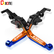 Motorcycle Accessories CNC Adjustable Folding Extendable Brake Clutch Levers For Honda  CB600F