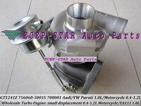 Free Ship GT1241Z 756068-5001S 708001 036145701 756068 Turbo For Volkswagen VW Parati EA111 1.0L 16 112HP motorcycle 0.4-1.2L