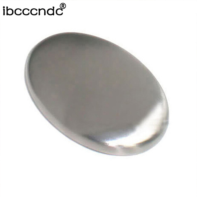 1pc Magic Metal Soap Stainless Steel Hand Odor Remover Bar Magic Soap Eliminates Garlic/onion Etc Smells Drug Bactericidal Soap 5