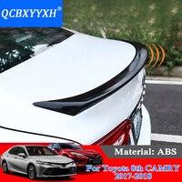 QCBXYYXH Автомобильный дизайн ABS Материал спойлер без Краски Авто украшения внешней отделки для Toyota Camry 2018 2019