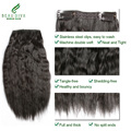 #1 African American Clip In Human Hair Extension 112G Clip In Human Hair Extensions Beau Diva Peruvian Hair Clip In Extensions