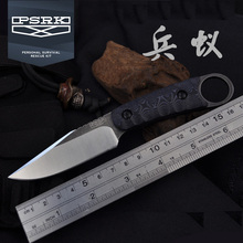 PSRK HOT Second Generation Fixed Knife DC53 steel G10 Handle EDC Outdoor Survival Small Tactical High Hardness Tool Gift Knives