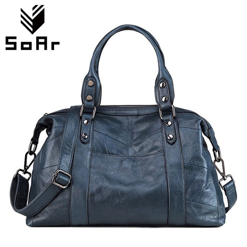 Фотография SoAr Pillow Designer Handbags Female Women Messenger Bags Genuine Leather Bolsa Feminina Famous Brands Shoulder Bags New Style