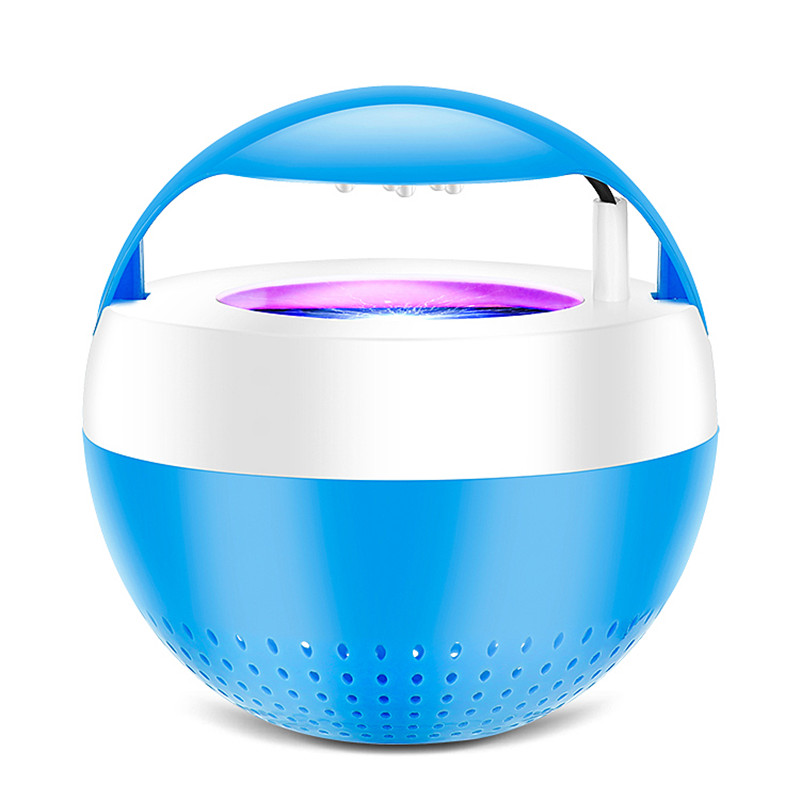 Blue Pink 5V 5W Mosquito Killer ABS Bug Fly Zapper Lamp USB LED Light Mute Repellent Traps Home Garden Pest Control Supplies