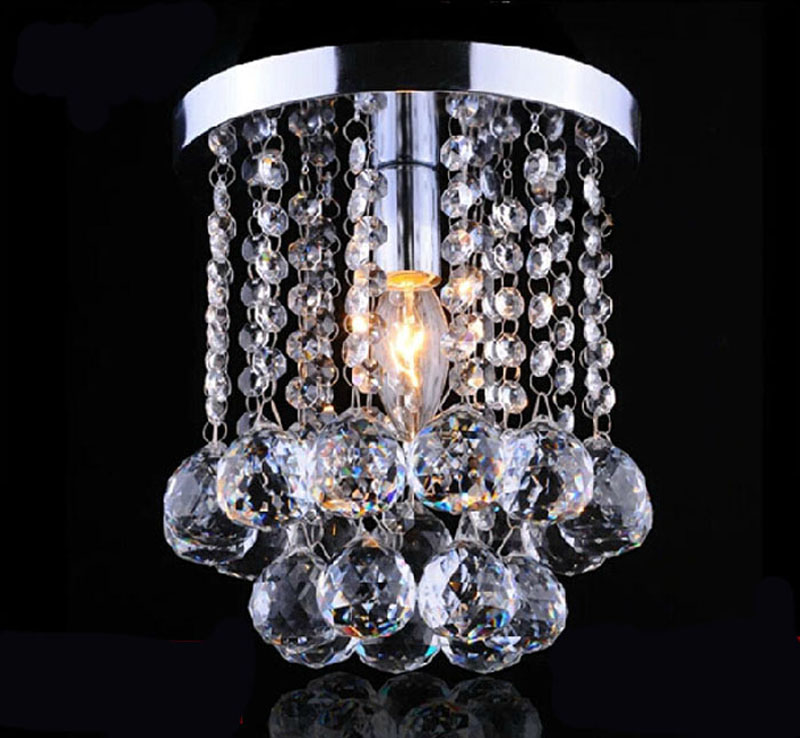 Modern clear k9 Crystal led Lights Aisle Lights Creative Porch Lights luxurious Crystal Ceiling Chandelier Lighting FixturesModern clear k9 Crystal led Lights Aisle Lights Creative Porch Lights luxurious Crystal Ceiling Chandelier Lighting Fixtures