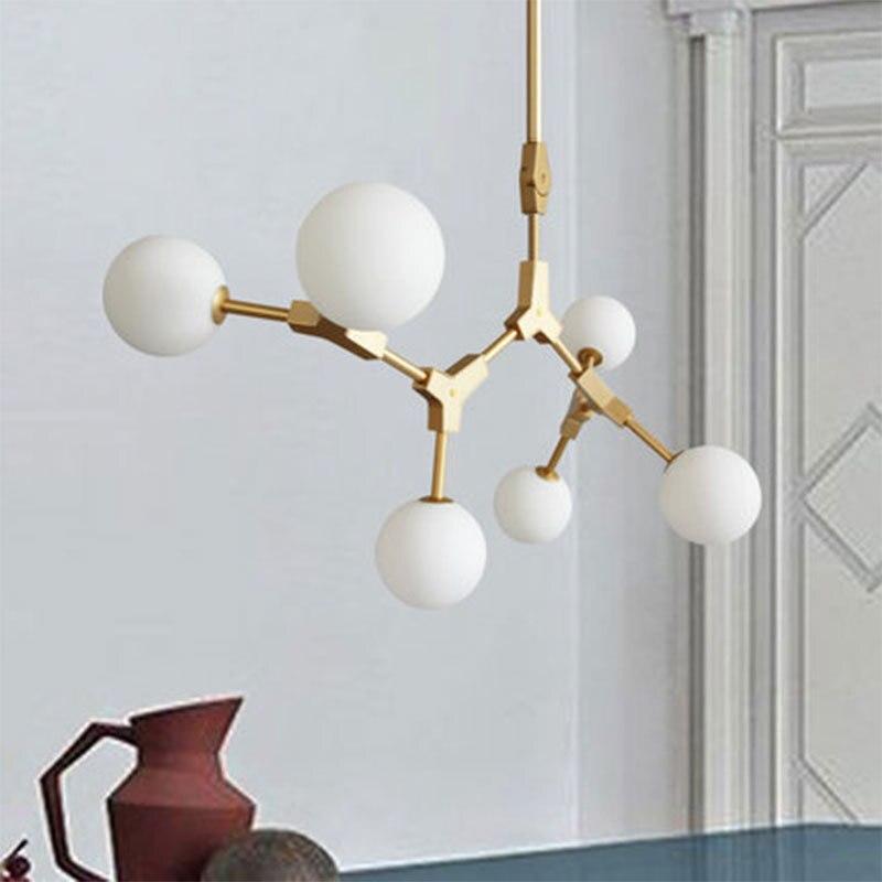 Hot Promo #b2ccd Modern Molecule Chandelier Lighting Led