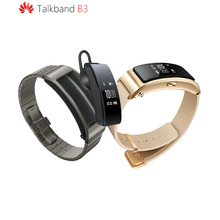 2016 Original Huawei Talkband B3 Smart Wristband Ultimate smartband Bluetooth headset Run/Walk/Ride/Climb/Sleep dz09 smart watch