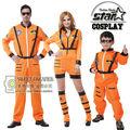 Familia a juego de halloween cosplay traje nuevo traje del carnaval del partido de cosplay clothing para padre madre hijo astronauta mono