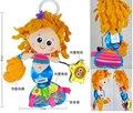 Горячая продажа супер мило русалка принцесса рыбы девушка погремушка кровать детская коляска висит успокаивающие плюшевые toys