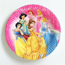 10pcs/lot paper plate Princess Snow White Cinderela Kids Birthday party supply event party supplies party Decoration Set  sc 1 st  AliExpress.com & Popular Snow White Plates-Buy Cheap Snow White Plates lots from ...