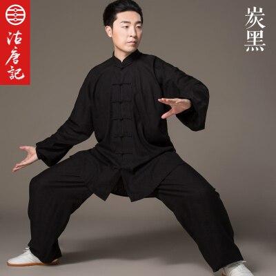 Lin Tai Chi uniforme Taiji Boxe Performance Vêtements Automne Martiaux Art Pratique Servir Et WomenSuit Wing Chun Uniforme