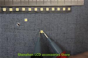 "Image 4 - 150 יח\חבילה עבור אלטרנטיבי LG SMD LED 3535 6 V קר לבן 2 W עבור LG32 ""/LG42"" /LG47 ""גדול עדשת LED LCD טלוויזיה"