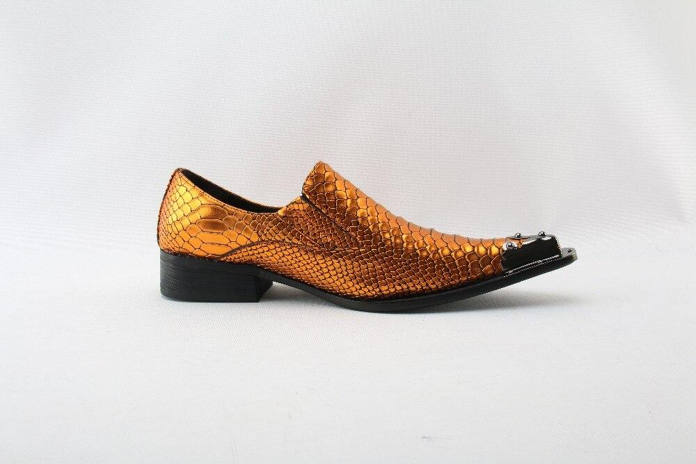 Para Marca De Mocasines En Oxford Picture Picture Zapatos As Punta Masculino Social Sapato as Cocodrilo Cuero Italiana Piel Deslizamiento Hombres t867q