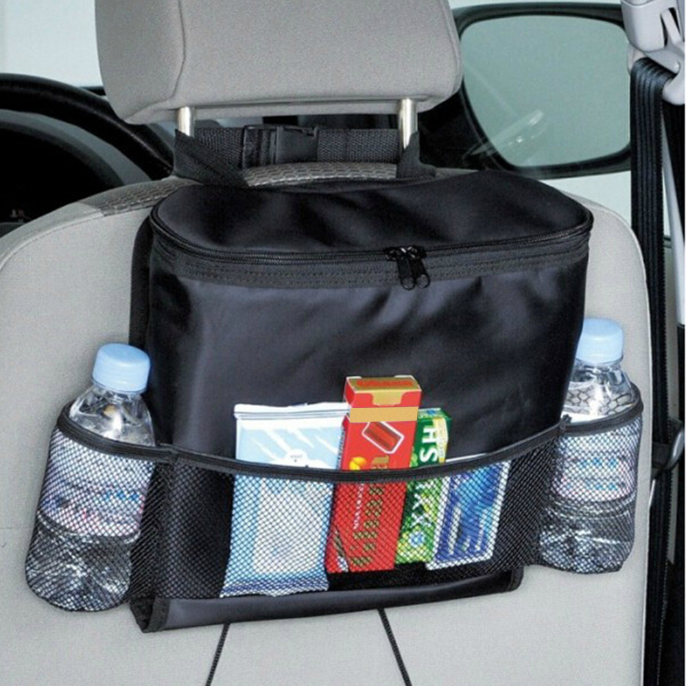 Universal Car Seat Auto Back Ice Pack Bag Organizer Stowing Tidying Pocket Drink Tool Bags In Car Phone Auto Travel Accessories