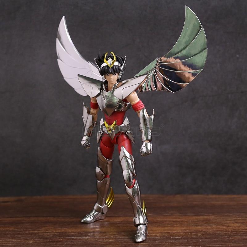 Great Toys Saint Seiya Myth Cloth Ex Myth Cloth Pegasus Seiya V3 Action Figure + Mini Athena Statue grandi giocattoli ptc saint seiya myth cloth ex shun andromeda v3 action figure