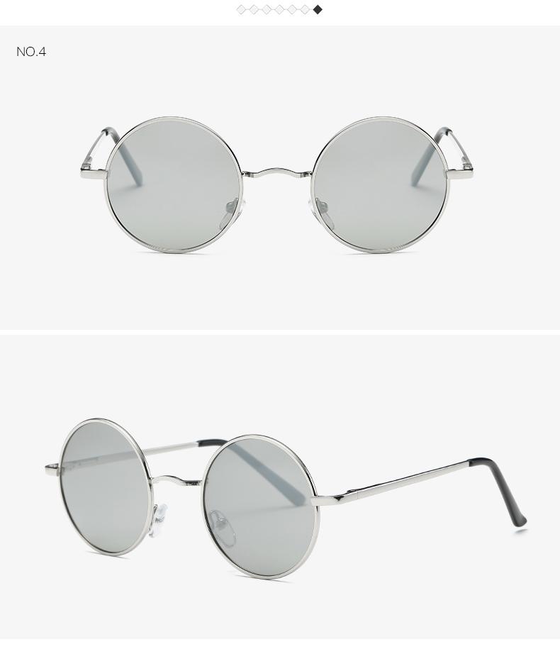 AEVOGUE Polarized Sunglasses For Men/Women نظارات شمسية للرجال وللسيدات بعدسات دائرية بلورايزد 8