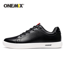 ONEMIX Men Casual Shoes Black Skateboarding Sport Trainers Lightweight Running Sneakers
