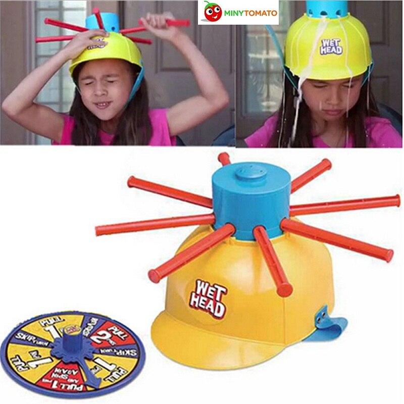 Мокрой головой шляпа водные игры вызов мокрый шутки и игрушки забавные игры в рулетку игрушки Игрушки-приколы для День Дурака